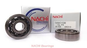 140 mm x 360 mm x 82 mm  NACHI NF 428 cylindrical roller bearings