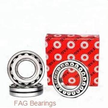 35 mm x 80 mm x 21 mm  FAG 6307-2Z deep groove ball bearings