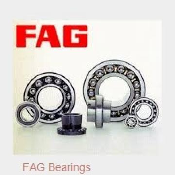110 mm x 170 mm x 38 mm  FAG 32022-X tapered roller bearings