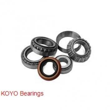 22 mm x 44 mm x 12 mm  KOYO 60/22N deep groove ball bearings