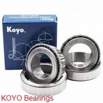 10 mm x 30 mm x 9 mm  KOYO 6200NR deep groove ball bearings