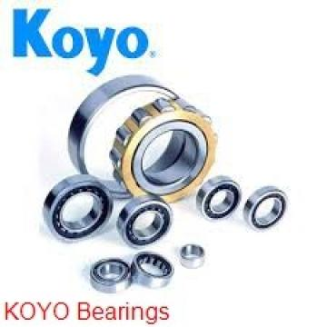6 mm x 15 mm x 5 mm  KOYO 696ZZ deep groove ball bearings