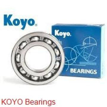 105 mm x 145 mm x 20 mm  KOYO 3NCHAR921CA angular contact ball bearings
