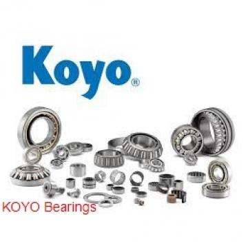 32 mm x 75 mm x 20 mm  KOYO 63/32 deep groove ball bearings