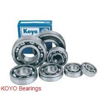 6 mm x 15 mm x 5 mm  KOYO 696 deep groove ball bearings