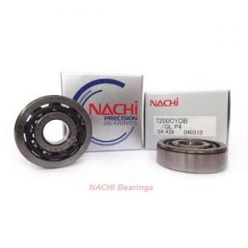 90 mm x 190 mm x 43 mm  NACHI 7318DT angular contact ball bearings