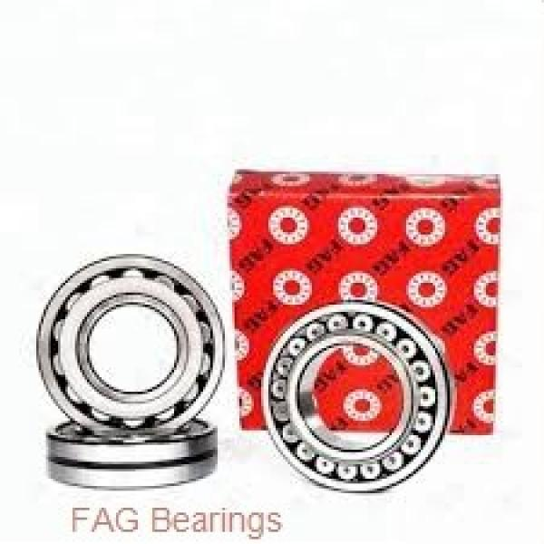 55 mm x 90 mm x 18 mm  FAG HCB7011-E-T-P4S angular contact ball bearings #2 image