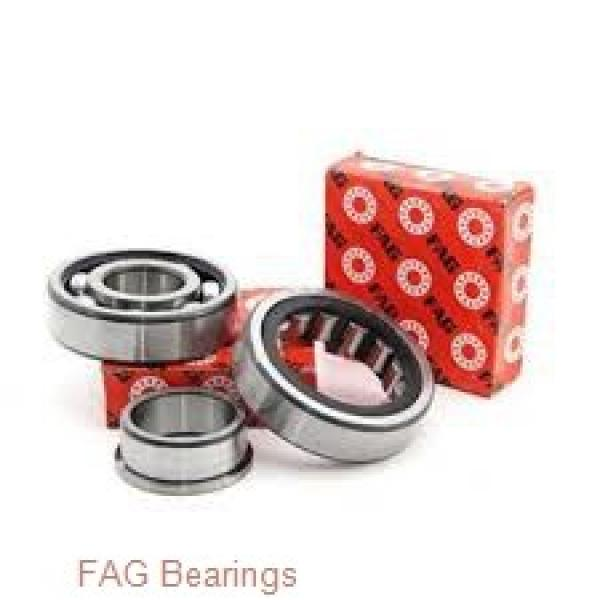 55 mm x 90 mm x 18 mm  FAG HCB7011-E-T-P4S angular contact ball bearings #1 image